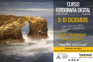 Cartel Curso fotografia Tenerife