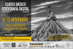 Curso fotografia Tenerife noviembre 2016