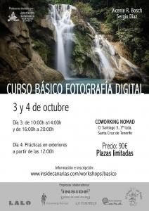 V curso de fotografía digital en Tenerife 1