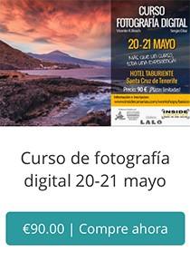 Compra curso fotografia Tenerife