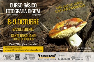 Curso de fotografía en Tenerife