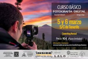 Curso fotografía Tenerife Marzo