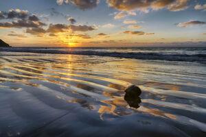 Amanecer en la playa de las Gaviotas - Tenerife - Vicente R. Bosch