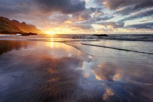Atardecer en la playa Roque de las Bodegas - Tenerife - Vicente R. Bosch