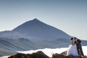 Postboda en el Teide