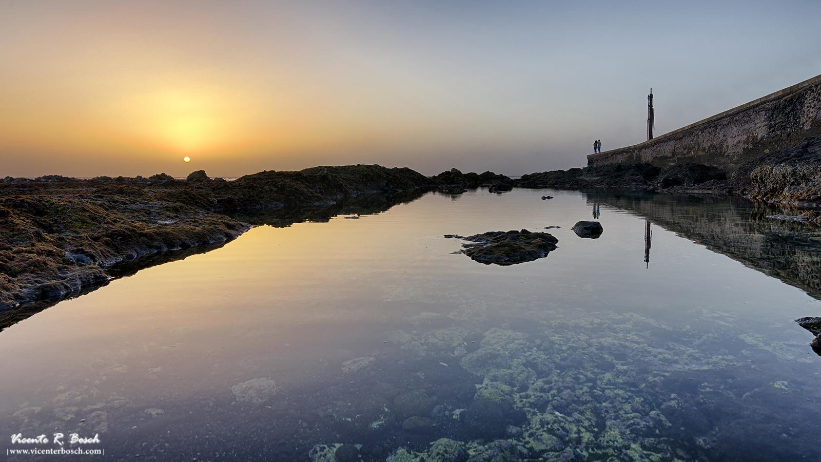 Atardecer en Guía de Isora - Tenerife