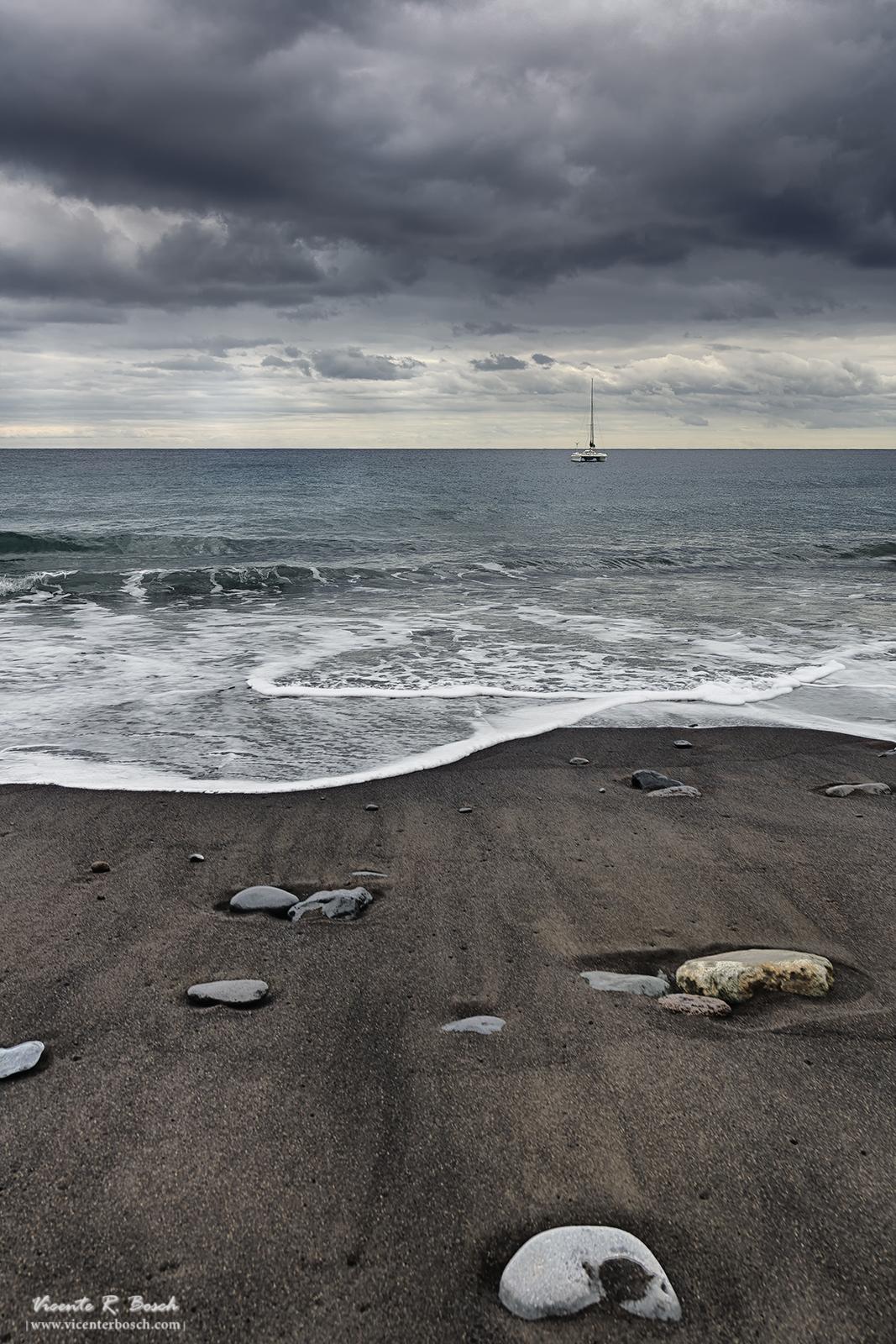 Son las cosas simples de la vida. Playa Santiago - La Gomera