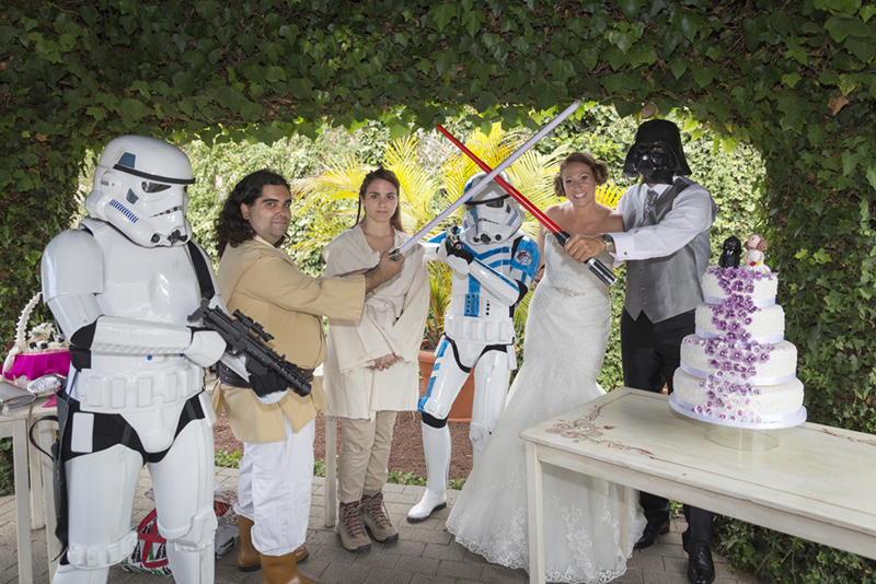 Stormtroopers Jesica e Israel