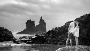Casualidades del destino Preboda Montse y Michael en Benijo Tenerife 1