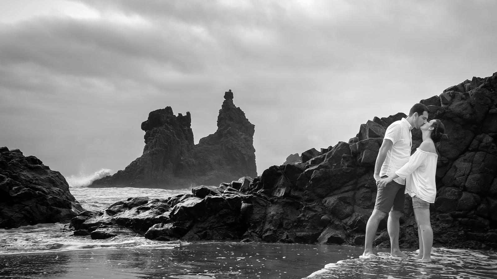 Casualidades del destino Preboda Montse y Michael en Benijo Tenerife