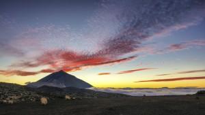 Atardecer Corral del Niño - Teide