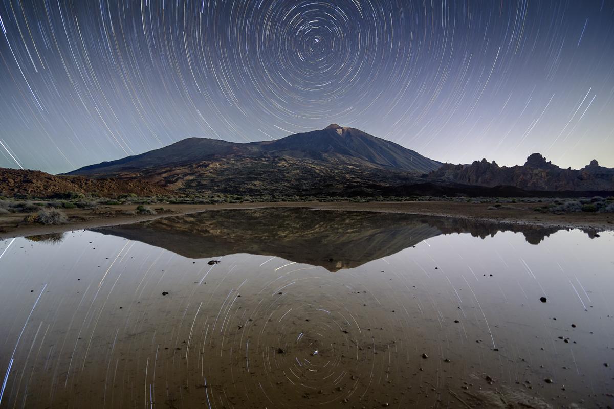 Circumpolar en el Llano Ucanca - Parque nacional del Teide