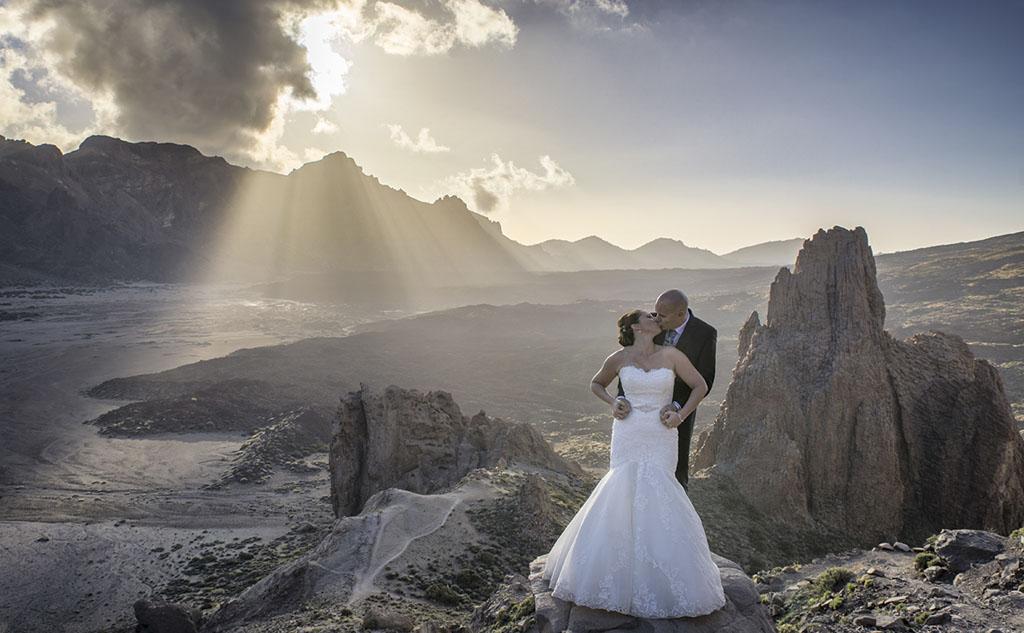 Postboda en Parque nacional del Teide