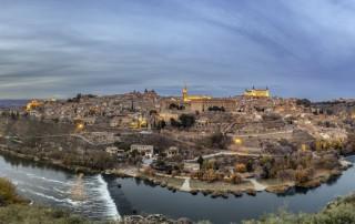 Toledo Ciudad Imperial Panoramica Skyline