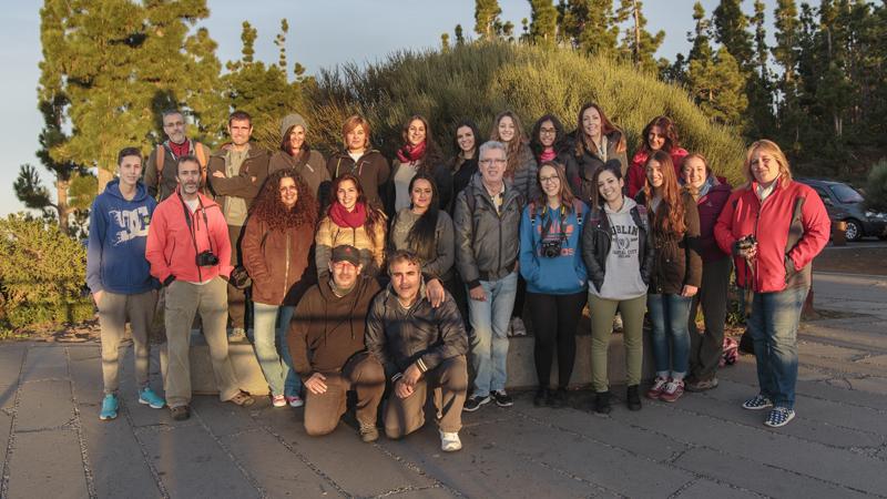 VIII curso básico de fotografía digital en Tenerife 1