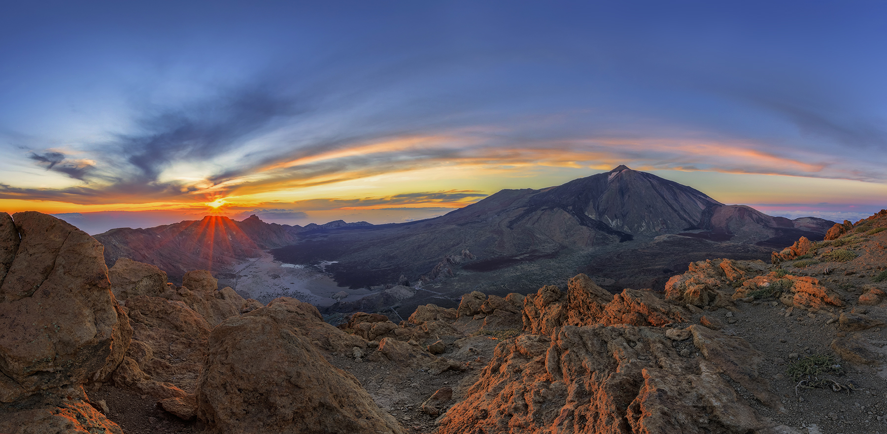 Atardecer desde Guajara - Parque nacional del Teide