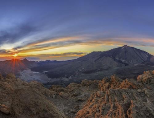 Atardecer en Guajara – Parque nacional del Teide