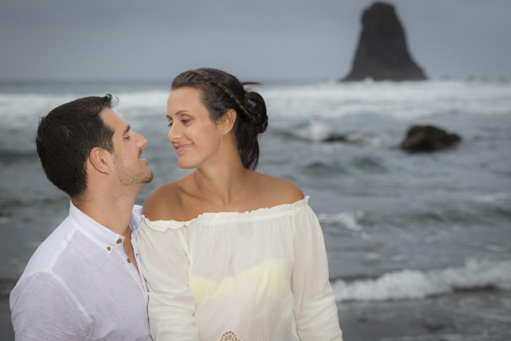 Montse & Michael, preboda en Benijo 11