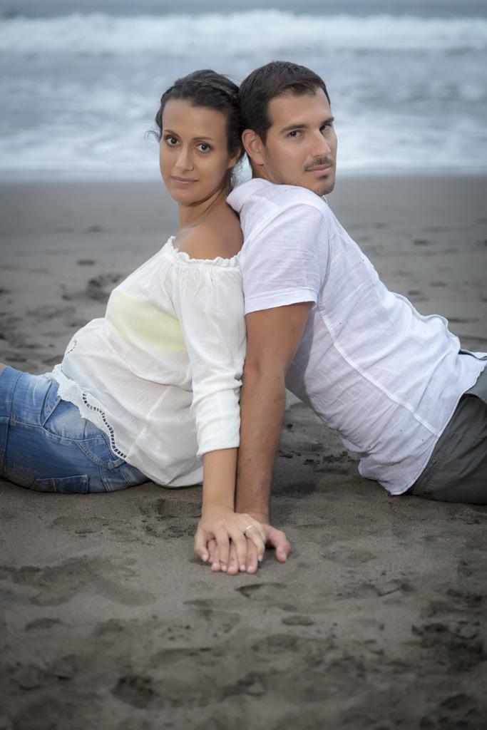 Montse & Michael, preboda en Benijo 13