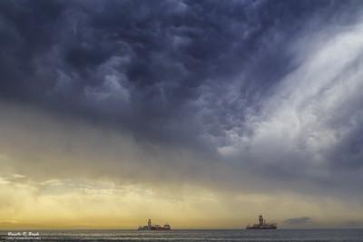 Cielos tormenta Tenerife