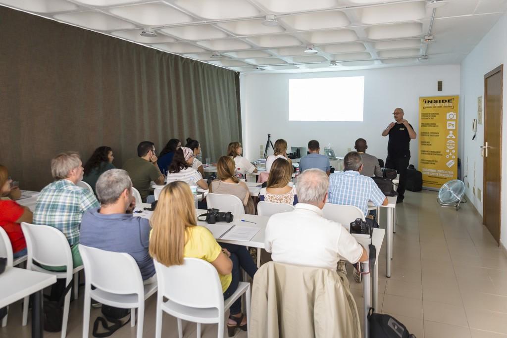 XIV curso de fotografía digital en Tenerife 2