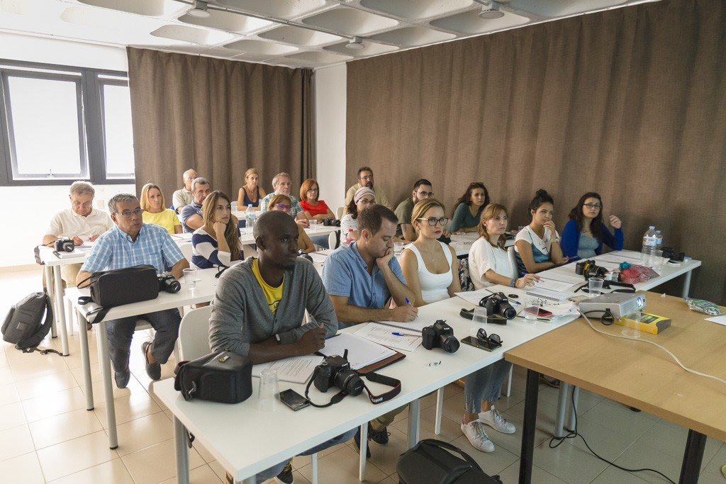 XIV curso de fotografía digital en Tenerife 3