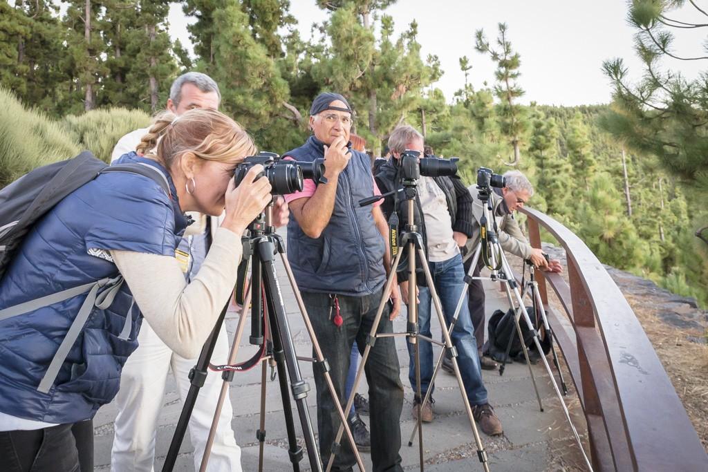 XIV curso de fotografía digital en Tenerife 13