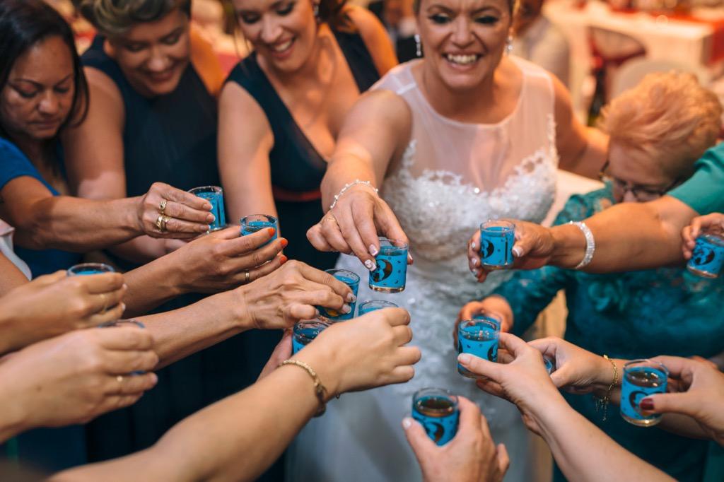 Celebración en boda