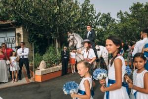 Novio en caballo