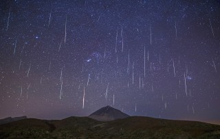 geminidas Teide estrellas fugaces