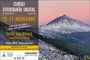 Curso fotografia Tenerife - Noviembre 2018