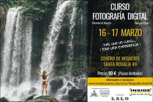 Curso fotografía Tenerife 2019