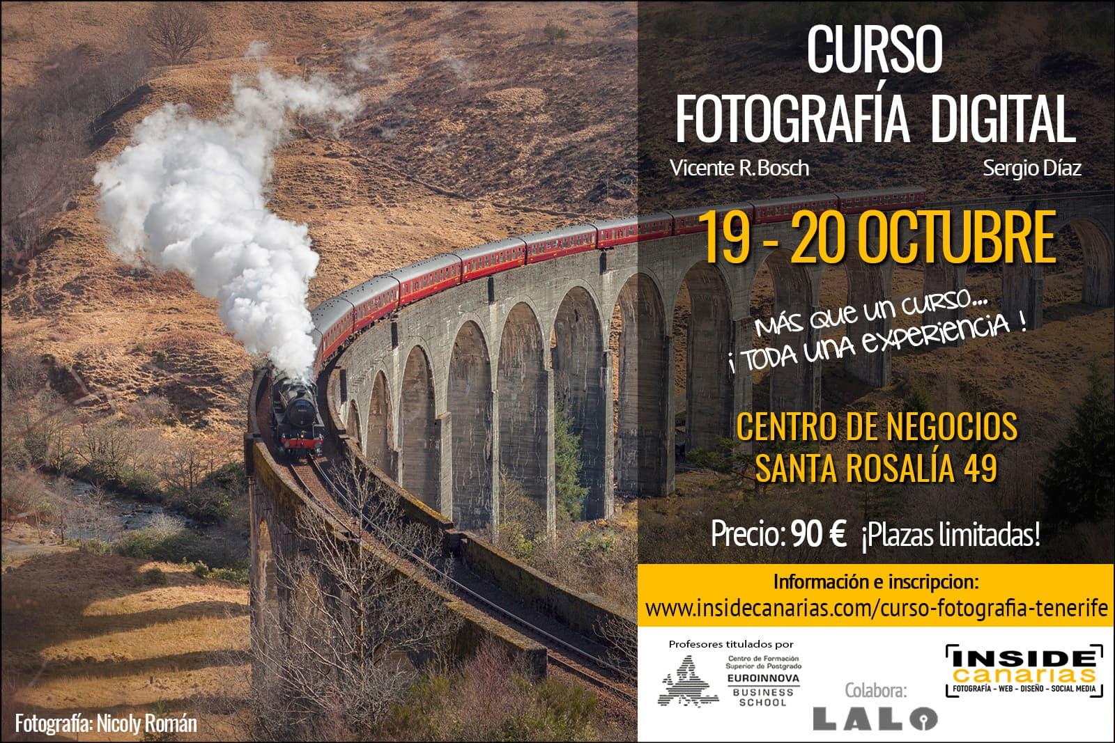 Curso fotografía en Tenerife
