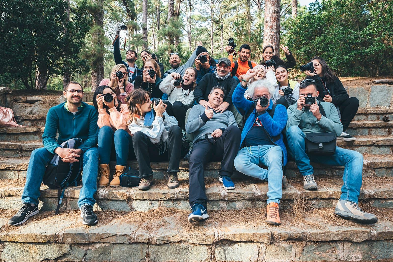Grupo curso fotografía Tenerife Enero 2020