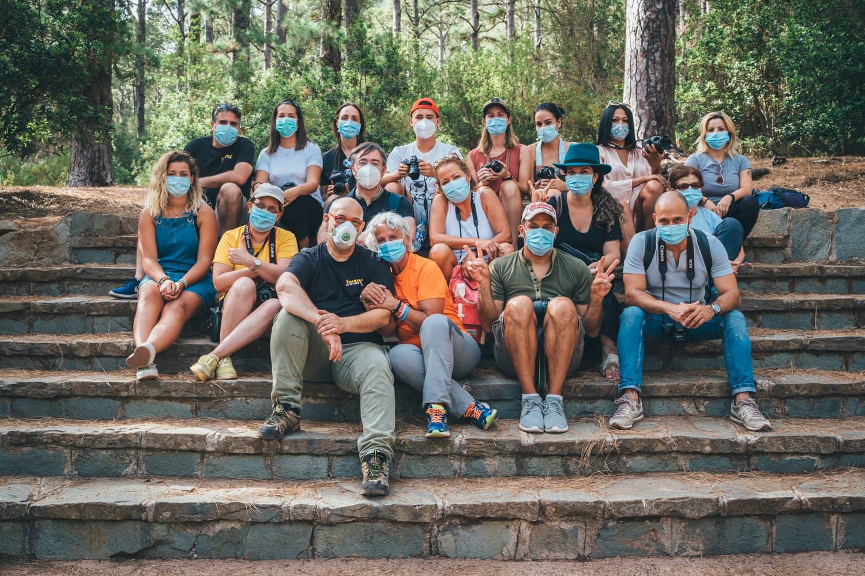 Grupo curso fotografía Tenerife Julio 2020