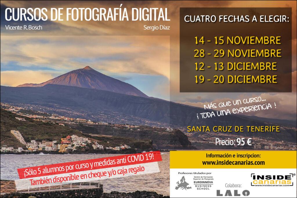 Cursos de fotografía en Tenerife