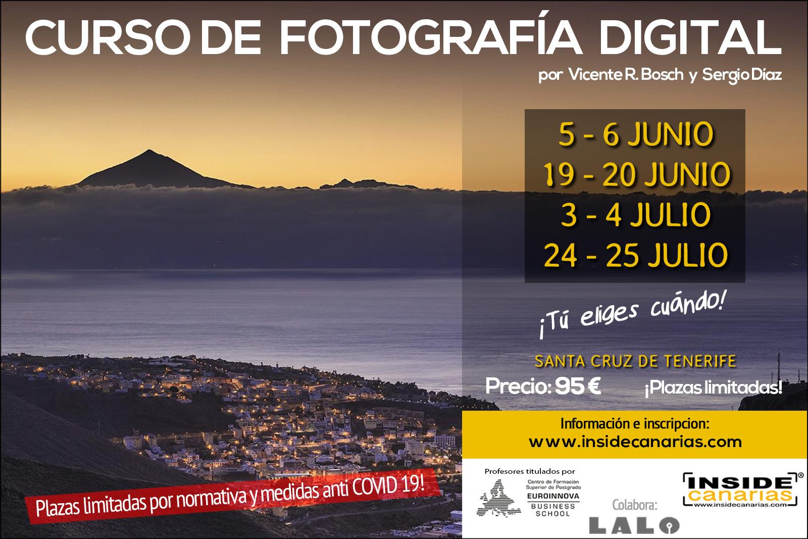 Curso de fotografía en Tenerife - Covid19 - 2021 1
